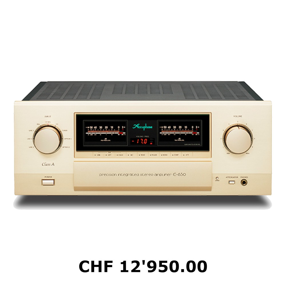 Accuphase E-650 Preis in CHF